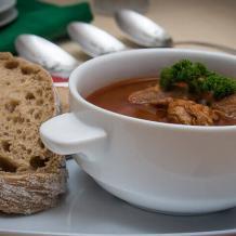 Суп гуляш – немецкий вариант гуляша (Гуляшзуппе)