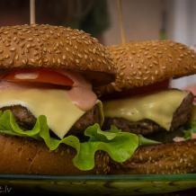Как приготовить домашний бургер