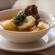 Šurpa (homšurbo) – zupa no aitas gaļas
