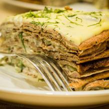 Печеночный торт Латгале - авторский рецепт