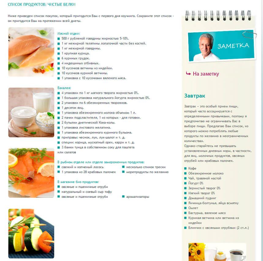 Дюкан диета официальный сайт отзывы