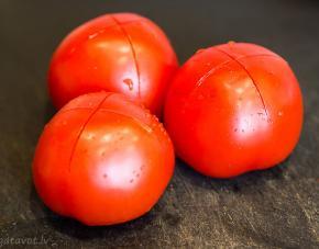 Как очистить помидоры от кожуры